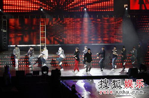 独家直击08SJ上海演唱会 彩排-SJ舞蹈演练