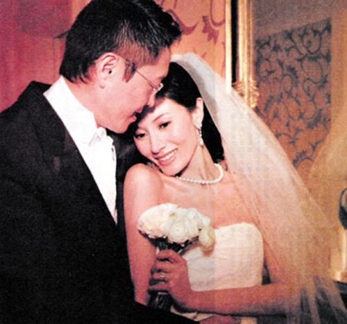 李嘉欣和许晋亨结婚照