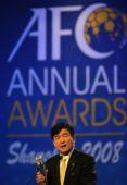 图文:2008亚足联颁奖典礼 大阪钢巴主席
