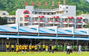 再见!笔架山基地。再见!这个记录了深圳足球十多年风风雨雨的地方。