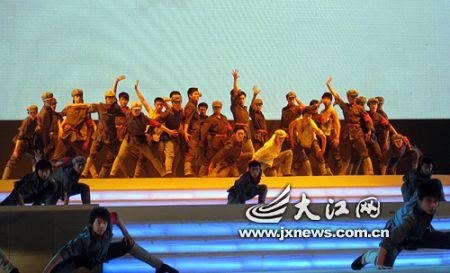 红歌会在人民大会堂彩排