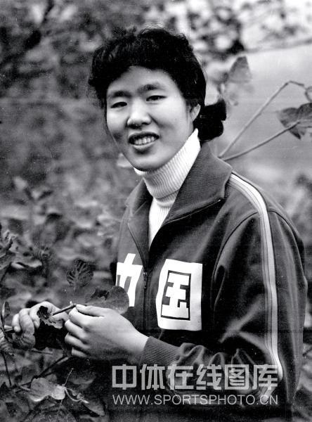 1980年10月,香山欣赏红叶