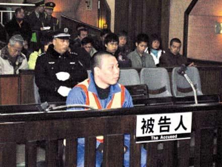 温俊武今年2月在庭上