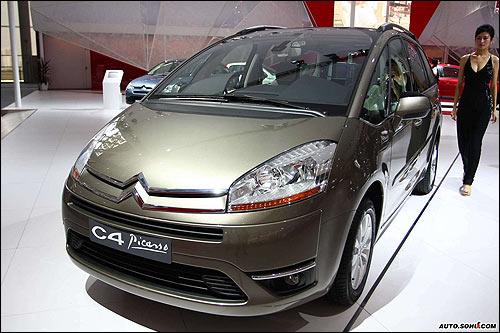 广州车展亮相的C4毕加索