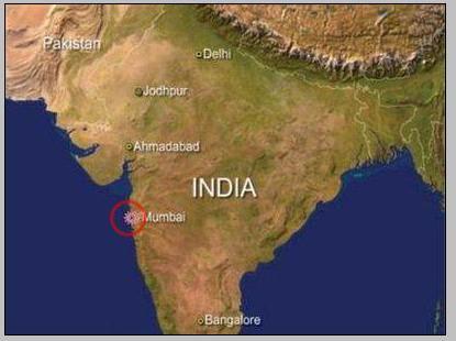 袭击地点发生在印度孟买市