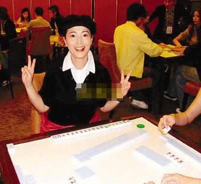苑琼丹参加麻将赛,原来另有所图。