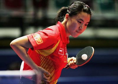 图文:年度最佳女运动员奖候选人 奥运冠军王楠