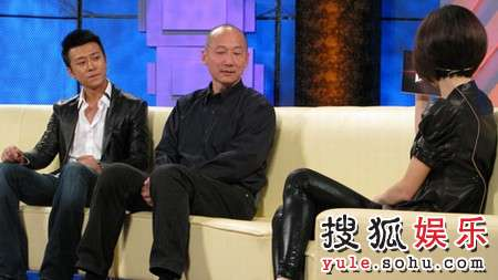 林申、张建亚导演做客《鲁豫有约》