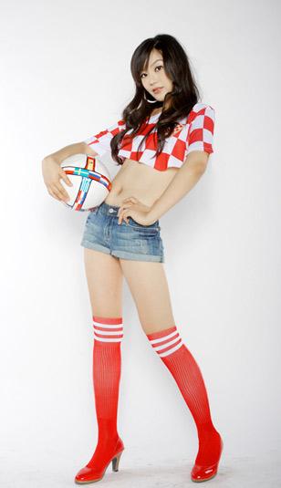 美腿足球宝贝