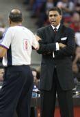 图文:[NBA]小牛客场胜国王 瑟乌斯质疑裁判