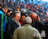 图文:[中超]北京2-0成都 阿里汉现身丰体