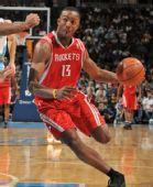 图文:[NBA]火箭负掘金 沃弗突破禁区