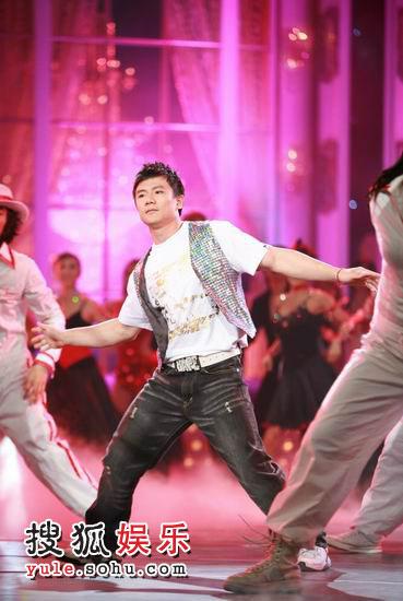 图:《舞林大会》初赛第三场 陈一冰舞林献舞