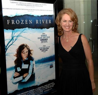 凭借《冰河》获得突破演员奖的梅里萨-里奥