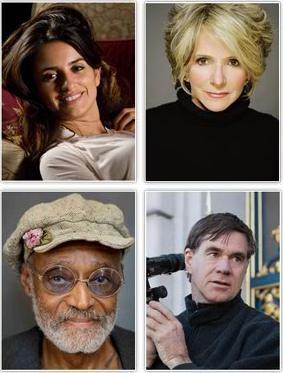 四位荣誉奖获得者:克鲁兹、谢拉、皮布尔斯、范-桑特