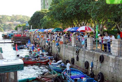 西贡海鲜街