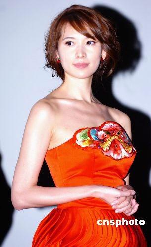 林志玲与邱士楷的结婚传闻不是第一次。中新社 朱沿华摄