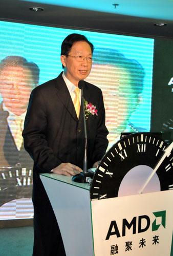 AMD全球副总裁王正福先生