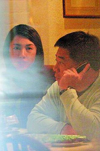 虽然黎姿和马廷强交往有5年之久,但被媒体拍到两人在一起的照片少之又少