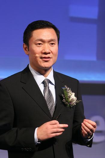 联想集团副总裁魏江雷
