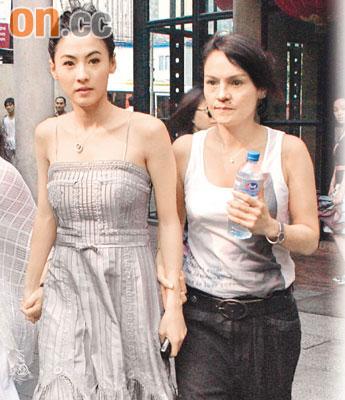 张柏芝自嫁人后便很少和母亲外出