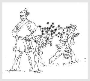 苏轼归途简笔画