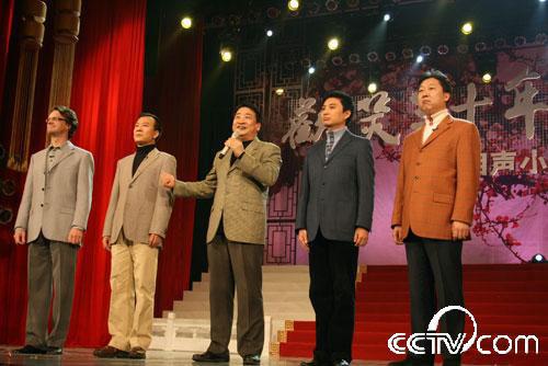 姜昆领衔的群口相声《新五官争功》