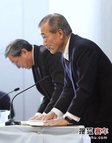 福井威夫宣布本田退出F1