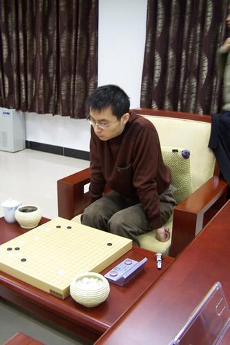 王磊比赛中
