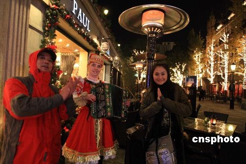 图:苏州情趣街头品味欧式圣诞市民国际上海帝王KTv情趣v情趣场图片