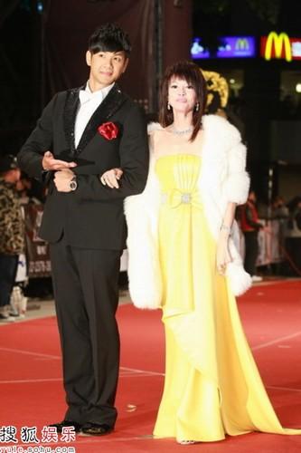 陈建州与郑裕玲担任本次金马颁奖部分的主持人
