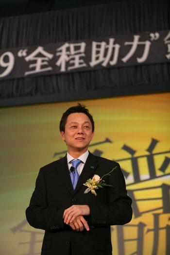 中国惠普副总裁兼中国(含香港)惠普信息产品集团总经理张永利
