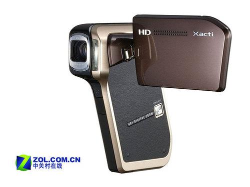 酷似剃须刀 高清动态拍摄三洋新品HD700