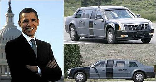 奥巴马与凯迪拉克
