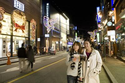 激情圣诞环球购物大扫荡—首尔(图)