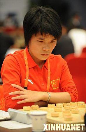 图文:最佳非奥运动员候选 中国象棋选手王琳娜