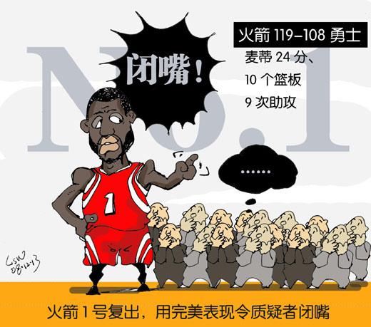 NBA漫画:火箭一号表现惊艳闭嘴让怀疑者复出漫画胸日韩揉图片