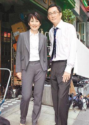 陈秀雯早前与吴启华拍摄剧集《法网群英》,不停赚钱
