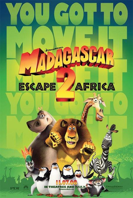马达加斯加2 海报1