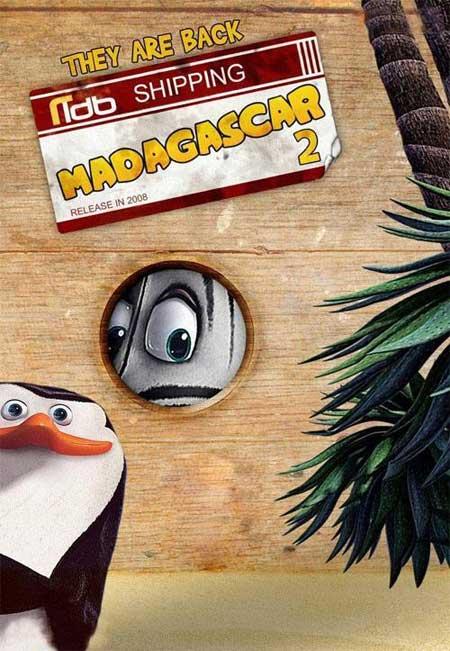 马达加斯加2 海报3