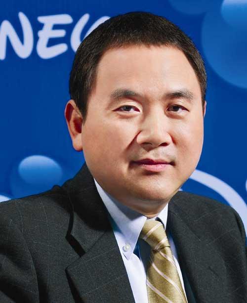 华特迪士尼公司执行副总裁兼大中华区董事总经理张志忠