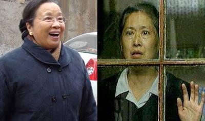 李明启和徐秀林扮演的张大妈性格截然不同