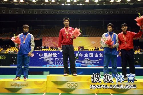 黎国介男重个人赛夺冠