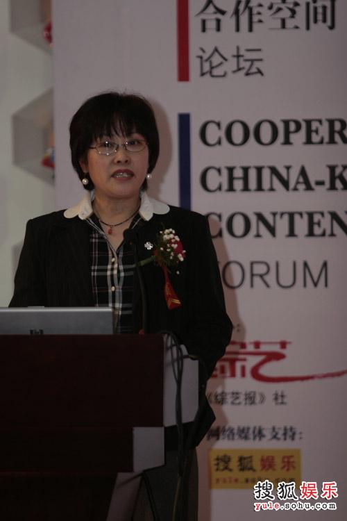 中国广播电影电视节目交易中心营销总监程春丽