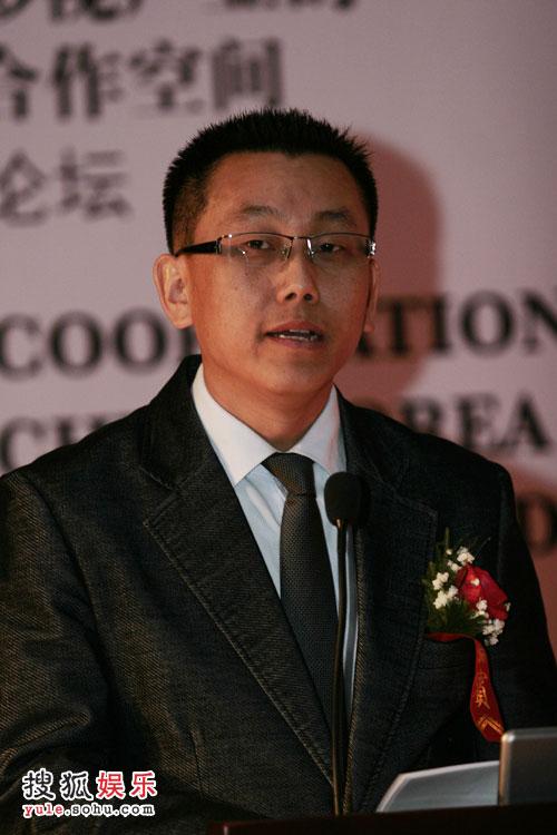 杰斯国际影业总裁韩曙永致辞