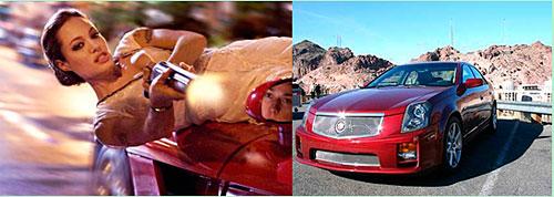 《史密斯夫妇》中安吉利娜•茱莉的座驾CTS-V