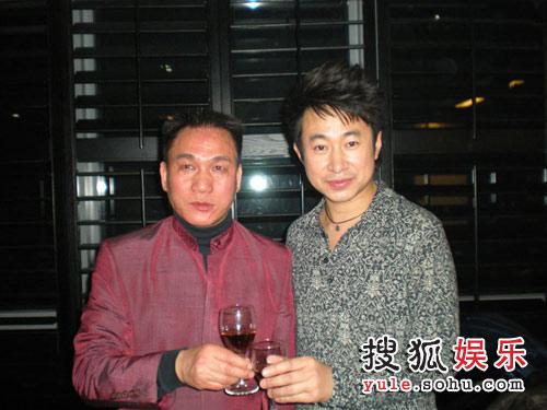 孙辉和BASIC集团总裁合影