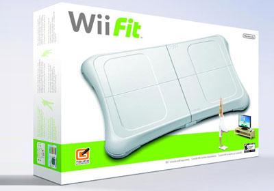任天堂Wii Fit游戏 价格:90美元(配有平衡板)