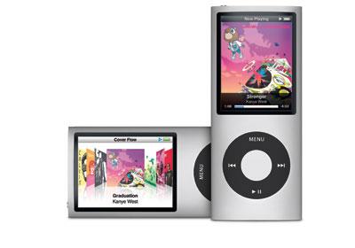 苹果iPod Nano播放器 价格:150美元(8GB容量)