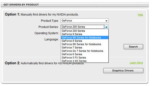 NV官方开始提供笔记本显卡驱动下载
